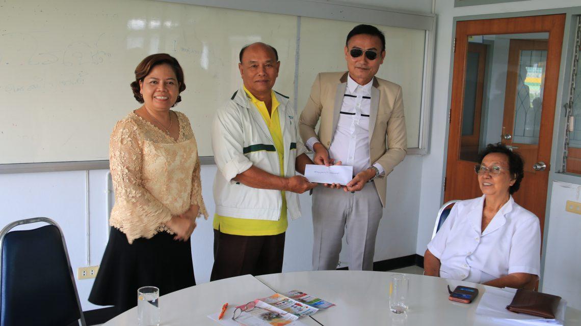บรรยาย แก่สมาชิกชมรมผู้สูงอายุมหาวิทยาลัยราชภัฏกาญจนบุรี